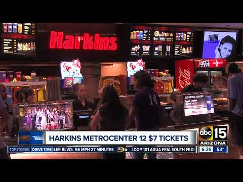 Harkins Offering $7 Tickets At One Valley Theater