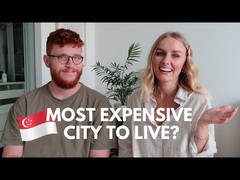 THE COST OF LIVING IN SINGAPORE! 🇸🇬  RENT, PUBLIC TRANSPORT, GROCERIES + MORE!