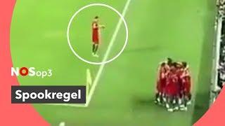 Spookregel op het WK: waarom juicht één speler niet mee?