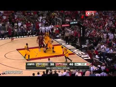 Dwyane Wade vs Lebron James Christmas Duel Highlights Heat vs Cavaliers 2014 12 25 MUST WATCH!