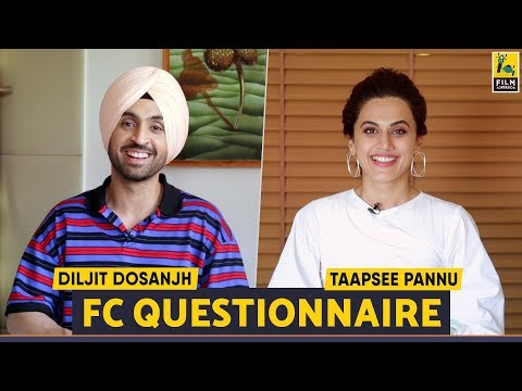 Diljit Dosanjh | Taapsee Pannu | Soorma | FC Questionnaire |