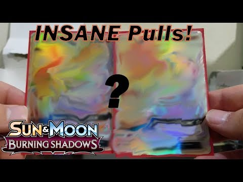 TWO RAINBOW RARES IN ONE BOX!! BURNING SHADOWS BOOSTER BOX