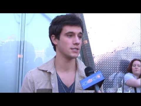 Drew Roy from Hannah Montana - Inspire Magazine Benefit