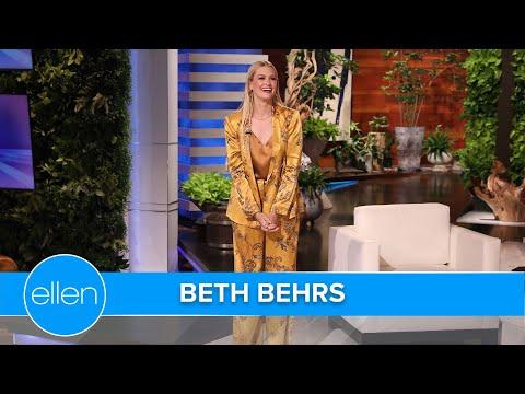 Guest Host Beth Behrs Looks Back at Her Favorite Ellen Moments