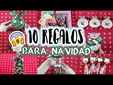 DIY 10 REGALOS F�CILES Y ECON�MICOS PARA ESTA NAVIDAD! - Evelynlugod