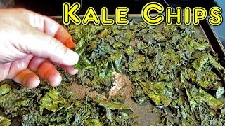 The Best Homemade Kale Chip Recipe Ever!