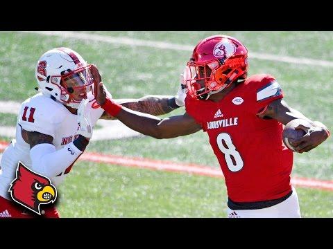 Lamar Jackson: 359 Total Yards, 4 TD In 1st Half vs. NC State