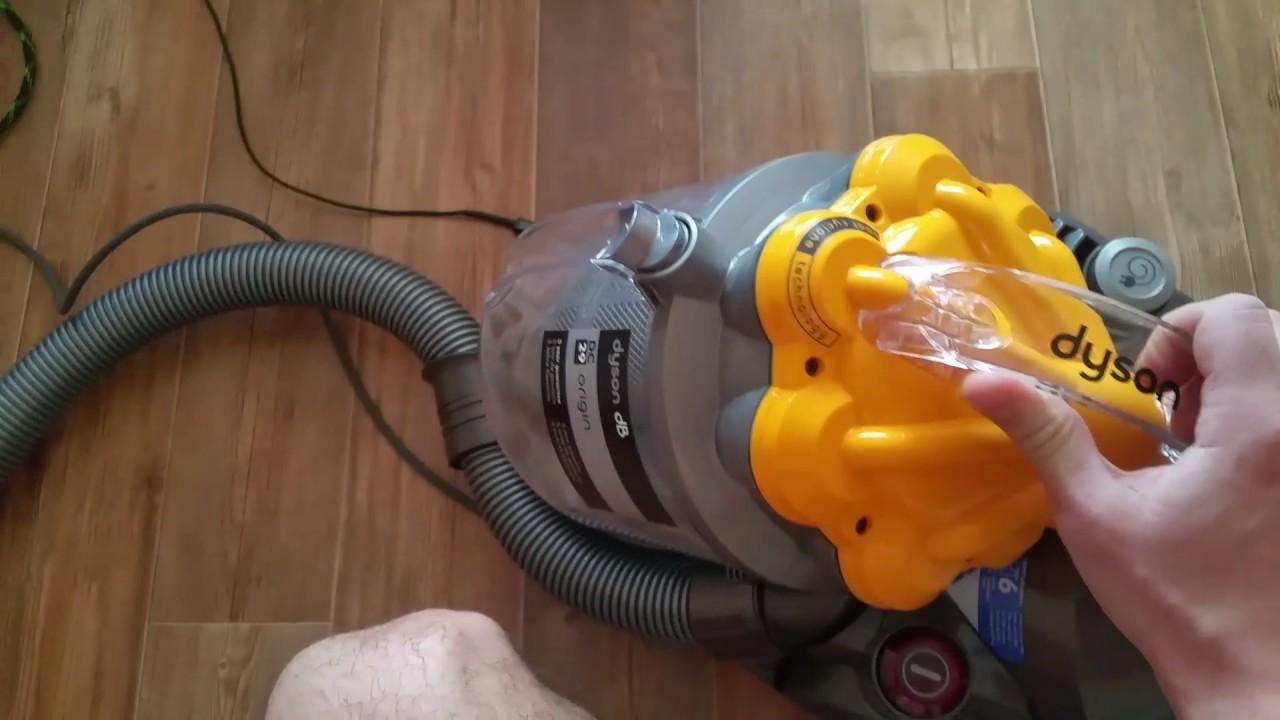 как чистить пылесос дайсон dc29