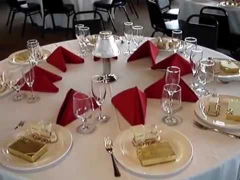 catering set up banquet hotel restaurant youtube. Black Bedroom Furniture Sets. Home Design Ideas