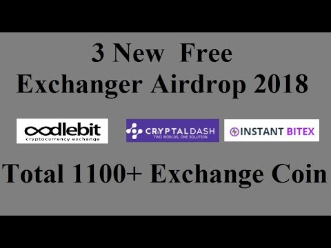 3 New Free Exchanger Coin Airdrop 2018|| Total 1100+ Exchange Coin