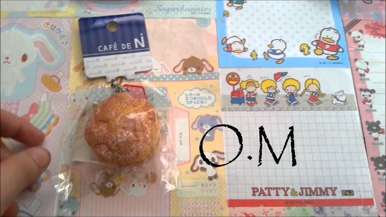 Cafe De N Cream Puff Squishy : Rare Squishy Haul : Original Cafe De N Cream Puff   - YouTube