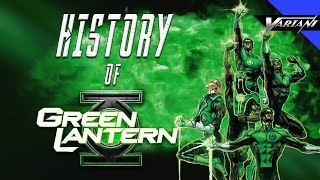 History Of All The Green Lanterns Of Earth!