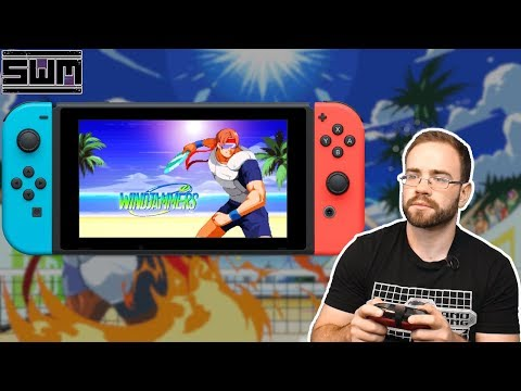 Windjammers Is Now On Nintendo Switch...And It's Still Awesome!