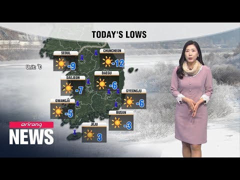 [Weather] Extreme Cold Weather Grips S. Korea With Temperatures Far Below Freezing