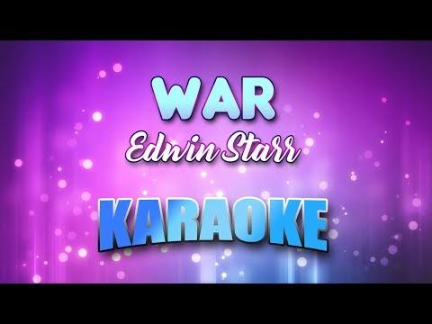 Edwin Starr - War (Karaoke & Lyrics)