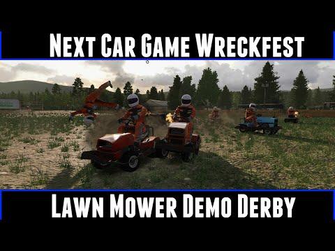 Next Car Game Wreckfest Lawn Mower Demo Derby