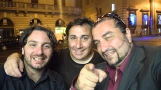 Paolo Lucchetti con Andrea Bacarelli salutano il Web con il Salutatore