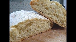 Как испечь чиабатту дома? Простой рецепт вкусного хлебушка.