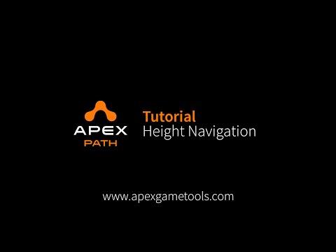 Unity Tutorial Apex Path - Height Navigation