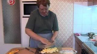 Яблочная запеканка с рисом