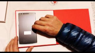 Primer UNBOXING del OnePlus One en CHILE!!! Video
