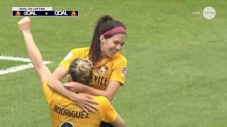 Goal: erika tymrak scores her first goal of the season