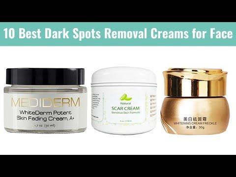 10 Best Dark Spots Removal Creams for Face 2019 | For Acne Scars, Age Spots, Sun Spots, etc.