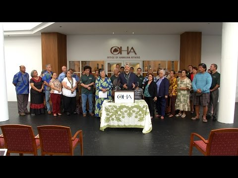 OHA | Announcement of Convention to Form the Hawaiian Nation