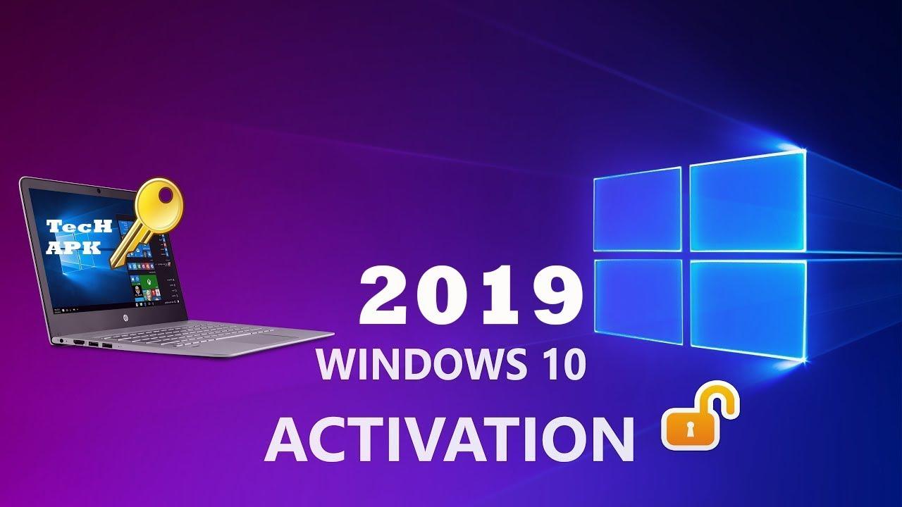 Activate Windows 10 Pro Product Key 64 Bit 2019 Bangla ...