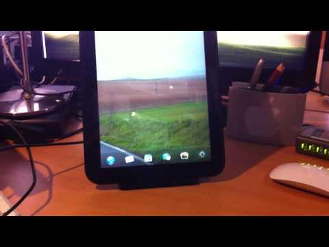 Mi HP Touchpad y accesorios (TouchStone, Teclado)