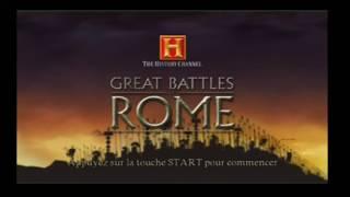 """[Ps2] Introduction du jeu """"The History Channel : Great Battles of Rome"""" de Black Bean (2007)"""