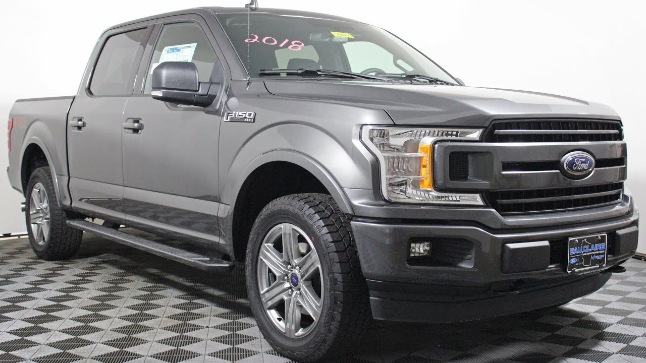 2018 ford f 150 xlt supercrew cab 2 7l ecoboost fx4 at eau. Black Bedroom Furniture Sets. Home Design Ideas