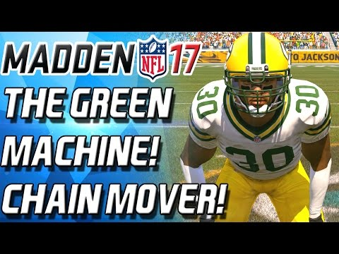 AHMAN THE MACHINE GREEN! ULTIMATE CHAIN MOVER! - Madden 17 Ultimate Team
