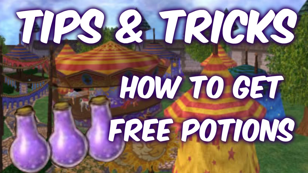 Create Potions in No Download Wild Wizards Slots