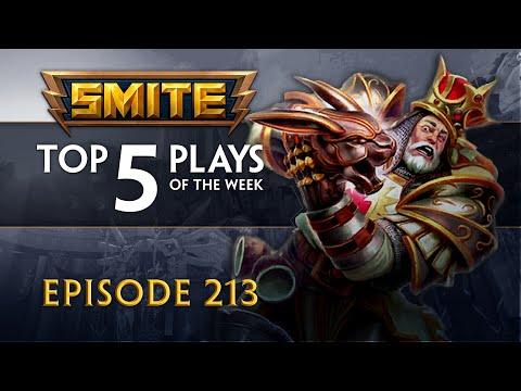 SMITE - Top 5 Plays #213