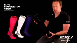 Компрессионные элитные спортивные носки MA1993e, WA1994e
