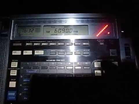 China Radio International 6090kHz Blues in Hakka