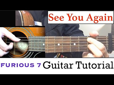 See You Again  Guitar Tutorial Wiz Khalifa ft Charlie Puth