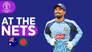 AUS V BAN - At The Nets   ICC Cricket World Cup 2019