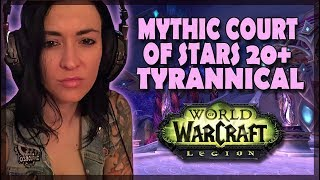 Mythic 20+ Court of Stars Tyrannical 7.3.5 Protection Paladin POV