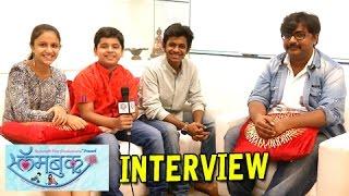 Team Slambook Interview -  Shantanu Rangnekar, Ritika Shrotri - Marathi Movie!