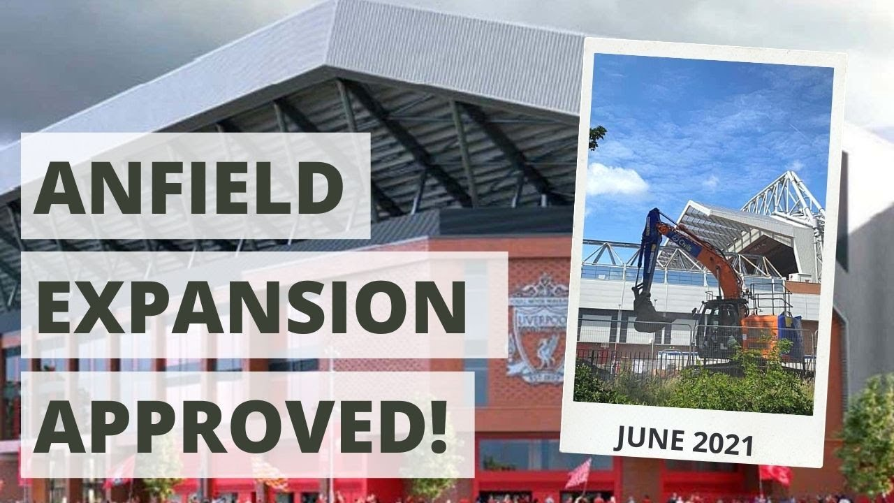 Liverpool stadium plans: Anfield to rise to 61000 - third largest ...