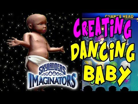 Skylanders Imaginators Creation   Creating The Dancing Baby