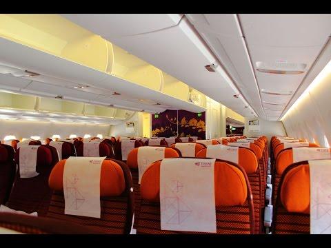 AIRBUS A350 THAI Airways TG403 BANGKOK - SINGAPORE CHANGI