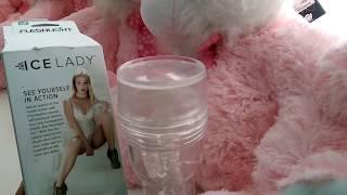 Прозрачный Мастурбатор ice lady fleshlight самый популярный в порно