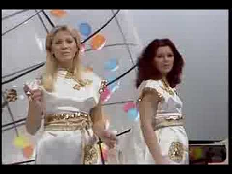 ABBA The Name Of The Game Japanese television special