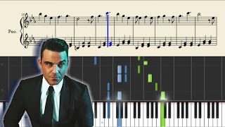 Robbie Williams - The Heavy Entertainment Show - Piano Tutorial + SHEETS