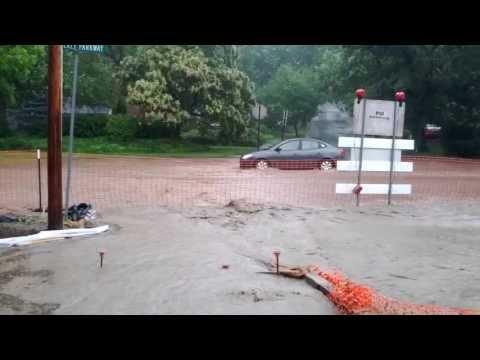 State College, Pa flash flood