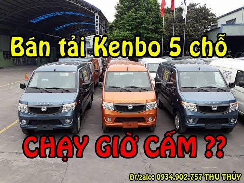 Giá xe tải VAN Kenbo 5 chỗ 650kg thùng hàng 1,4m nhập khẩu Nhật Bản - mới 2018 - YouTube