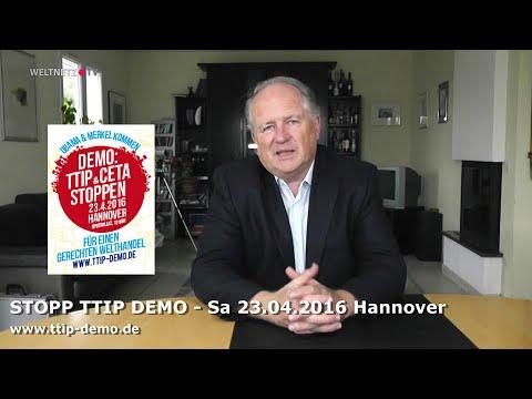 Prof. Dr. Heiner Flassbeck zu TTIP:  Die Idee hinter Freihandelsabkommen ist grundlegend falsch!